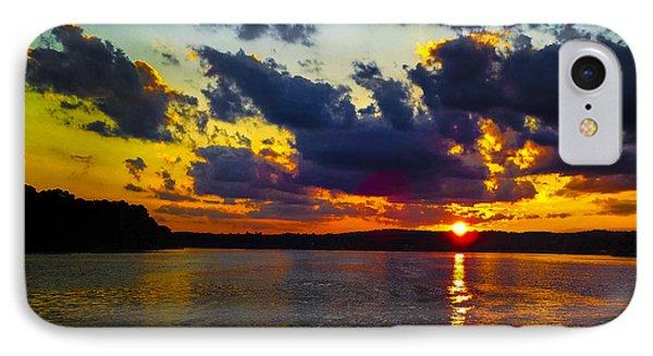 Sunset At Lake Logan Martin IPhone Case