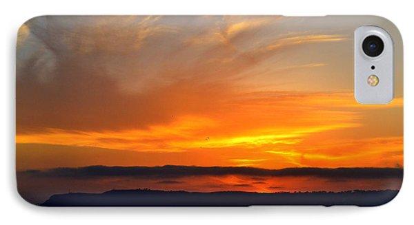 Sunset At Point Loma From Coronado California IPhone Case