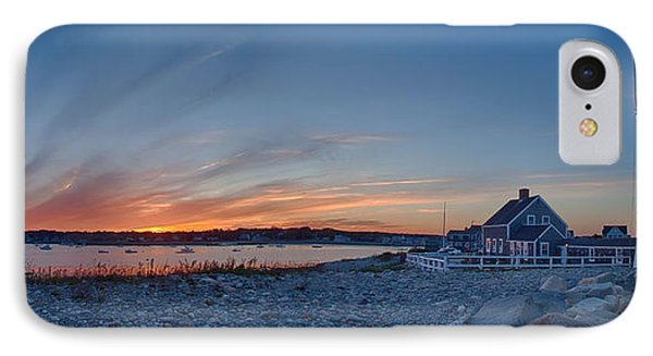 Sunset At Scituate Light IPhone Case