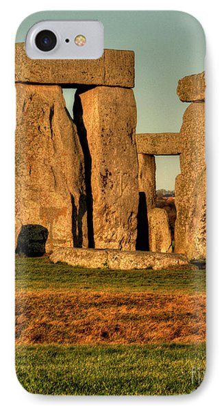 Sunset At Stonehenge 2 IPhone Case
