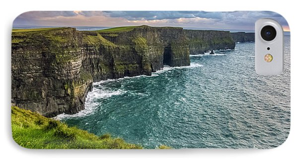 Sunset At The Cliffs Of Moher IPhone Case