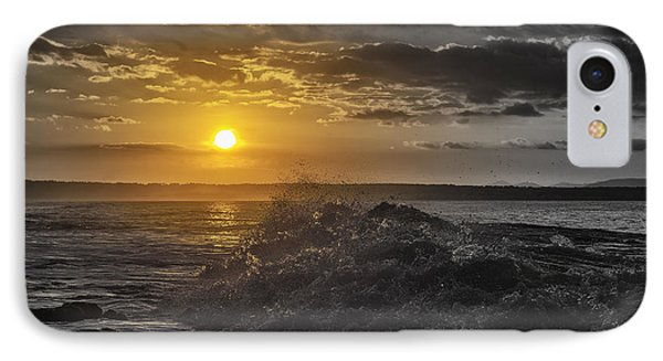 Sunset At The Ocean IPhone Case