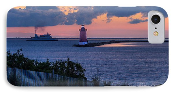 Sunset At The Point IPhone Case