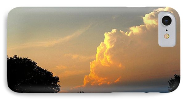 Sunset Clouds Building IPhone Case