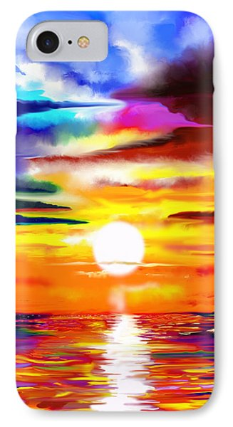 Sunset Explosion IPhone Case