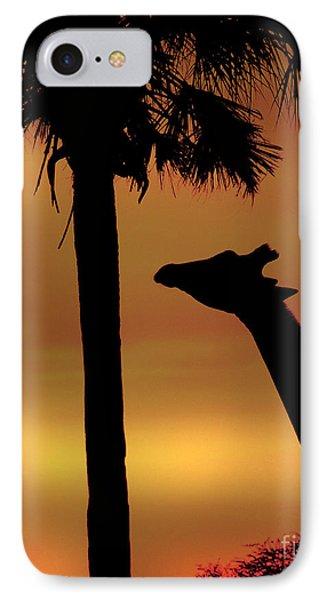 Sunset Giraffe 2 IPhone Case