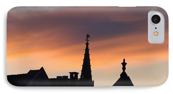 Sunset In Brussels IPhone Case