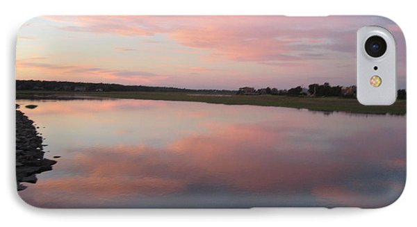 Sunset In Pink And Blue IPhone Case