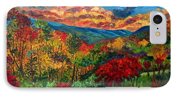 Sunset In Shenandoah Valley IPhone Case