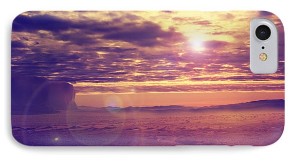 Sunset In The Desert IPhone Case
