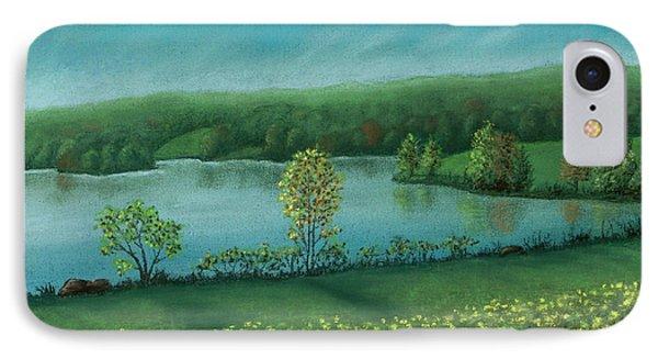 Sunset Lake C IPhone Case