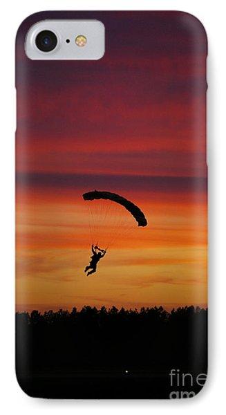 Sunset Landing IPhone Case