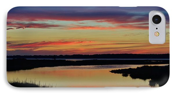 Sunset Marsh IPhone Case