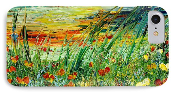Sunset Meadow Series IPhone Case