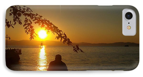 Sunset Meditation IPhone Case