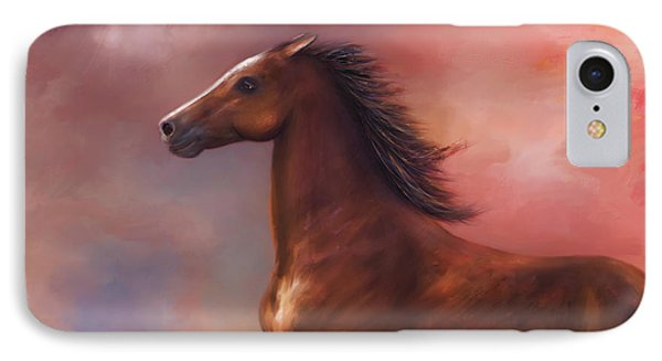 Sunset Mustang IPhone Case