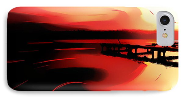Sunset Of Fire IPhone Case