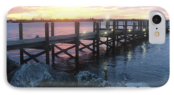 Sunset On Indian River IPhone Case