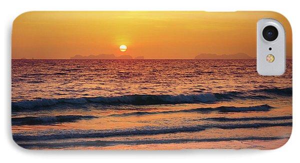 Sunset On Phiphi Island IPhone Case