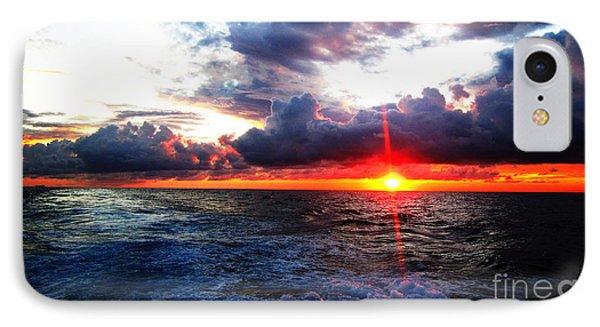 Sunset On The Atlantic IPhone Case