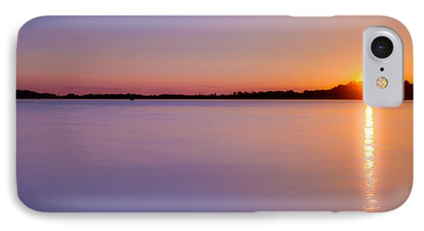 Sunset On White Bear Lake IPhone Case