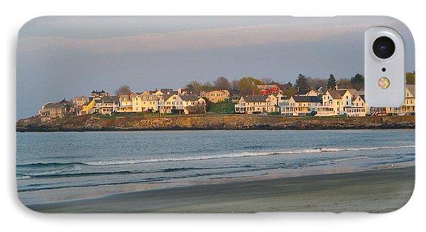 Sunset On York Beach IPhone Case