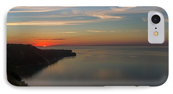 Sunset Over Ausable Point. IPhone Case