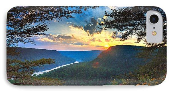 Sunset Over Edwards Point IPhone Case