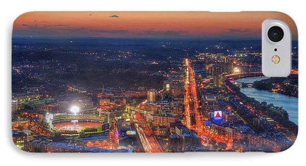 Sunset Over Fenway Park And The Citgo Sign IPhone Case