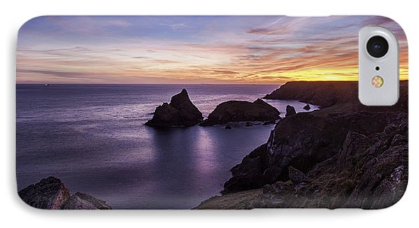 Sunset Over Kynance Cove IPhone Case