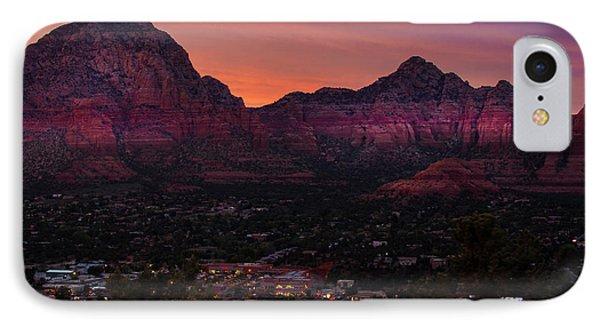 Sunset Over Sedona Az IPhone Case