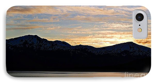 Sunset Over Skagway Ak IPhone Case