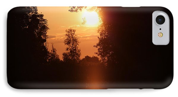 Sunset Over The Canals IPhone Case