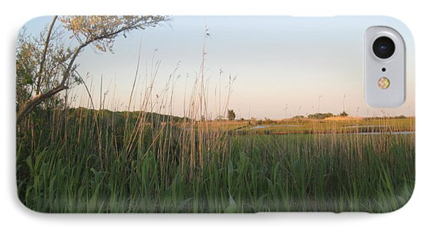 Sunset Over The Marshlands IPhone Case