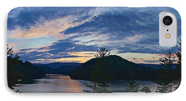 Sunset Pano - Watauga Lake IPhone Case