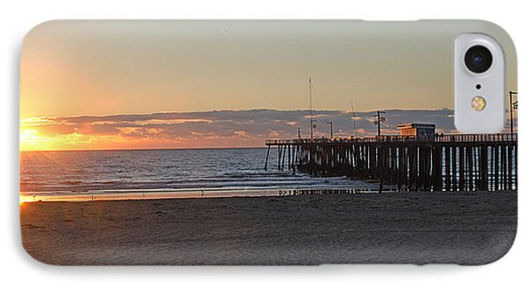 Sunset Pismo Beach Pier IPhone Case