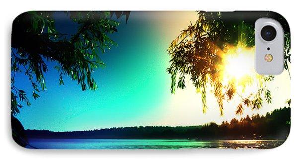 Sunset Rainbow At Kenmore Washington IPhone Case