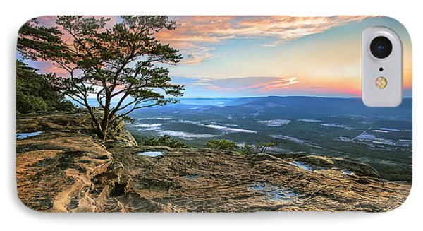 Sunset Rock Lookout Mountain  IPhone Case