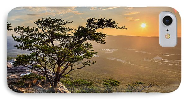Sunset Rock On Lookout Mountain IPhone Case