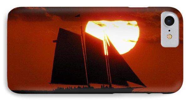 Key West Sunset Sail 5 IPhone Case