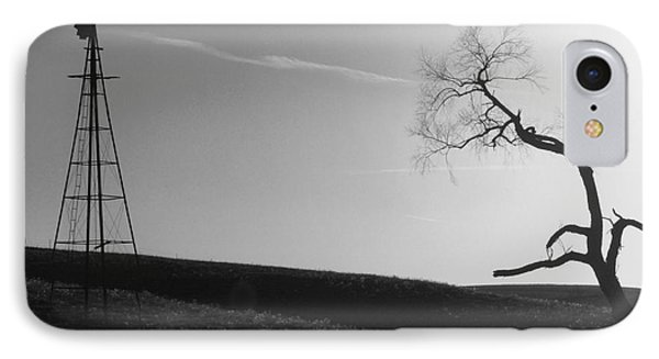 Sunset Silence Bw IPhone Case