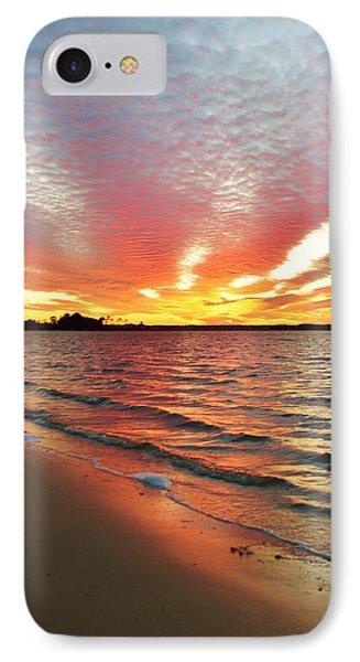 Sunset Streaks IPhone Case