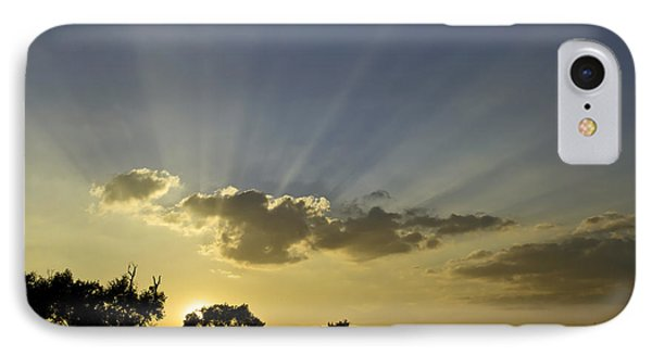Sunset Sunrays IPhone Case