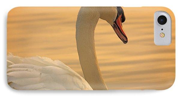 Sunset Swan IPhone Case