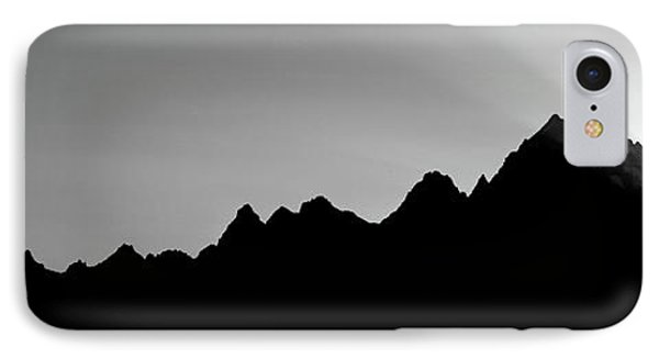 Sunset Teton Range Grand Teton National IPhone Case
