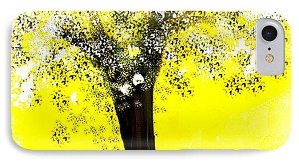 Sunshine Blossom Tree IPhone Case