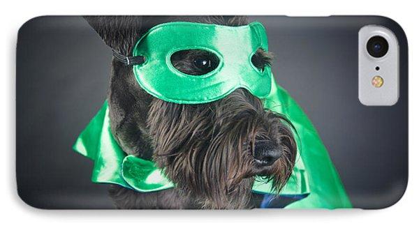 Super Dog Portrait IPhone Case