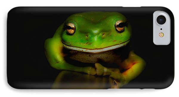 Super Frog 01 IPhone Case