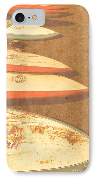 Surf Boards On Beach IPhone Case