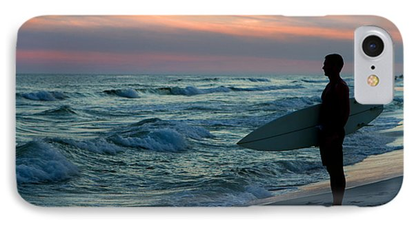 Surfer At Sunset IPhone Case